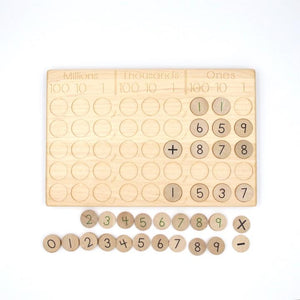 From Jennifer Place Value &/or Decimal Board (Preorder)