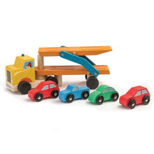 Load image into Gallery viewer, Tender Leaf Toys Car Transporter