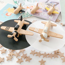 Load image into Gallery viewer, Hikoki propeller - Wooden Wind-up Propeller Plane