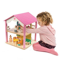 Load image into Gallery viewer, Tender Leaf Toys Pink Leaf House (Incoming June)
