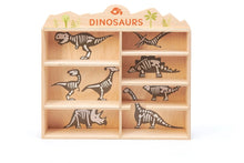 Load image into Gallery viewer, Tender Leaf Toys 8 Dinosaurs & Shelf (Incoming June)