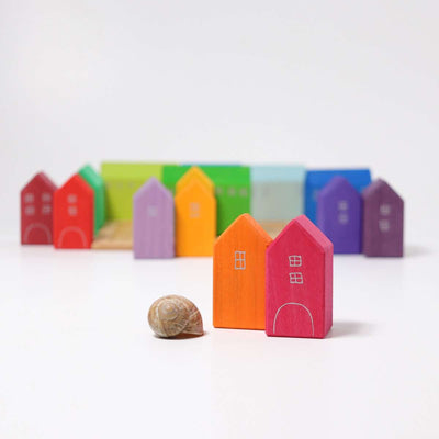 Grimm's Small Houses, Handpainted
