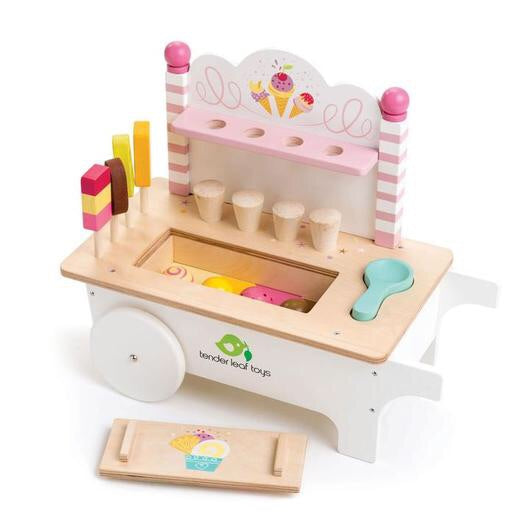 Tender Leaf Toys Ice Cream Cart (Incoming June)