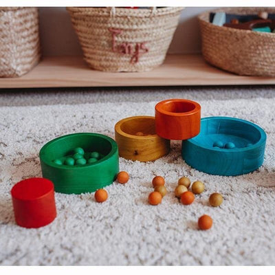 Qtoys Colored Stacking Bowls