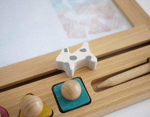 Oekaki house - Magic drawing board (Dog)