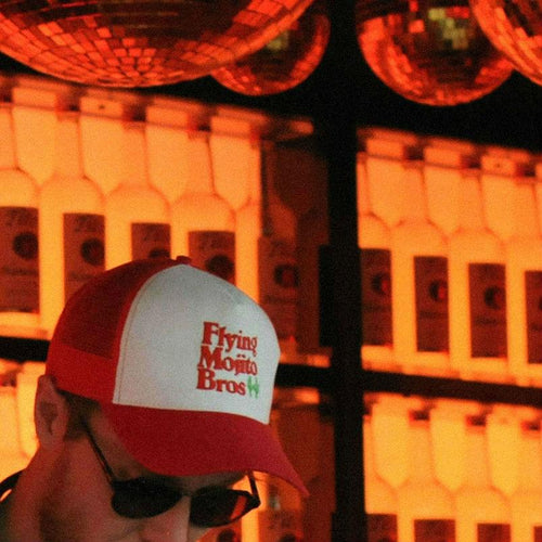 FMB TRUCKIN' HAT - RED