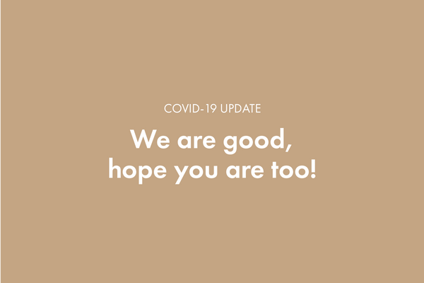 Our status on COVID-19