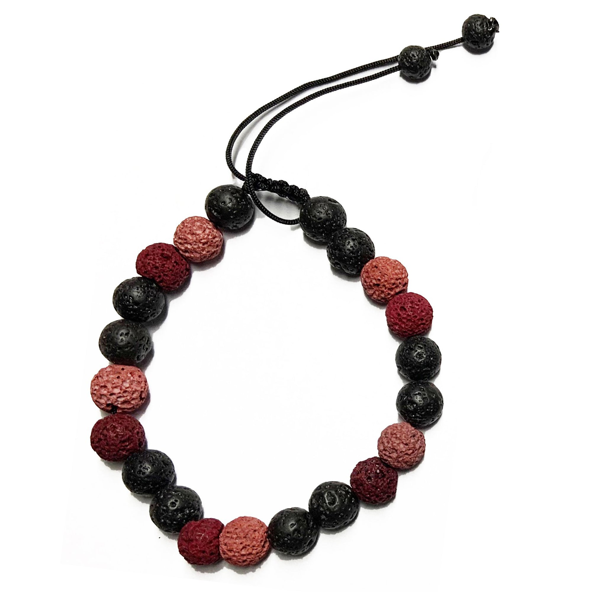 Lava Bead Ticklet: Pink or Blue