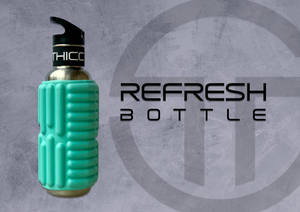 REFRESH Foam Roller Bottle