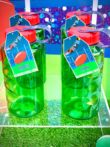 Aussie Rules Party Drink Bottle