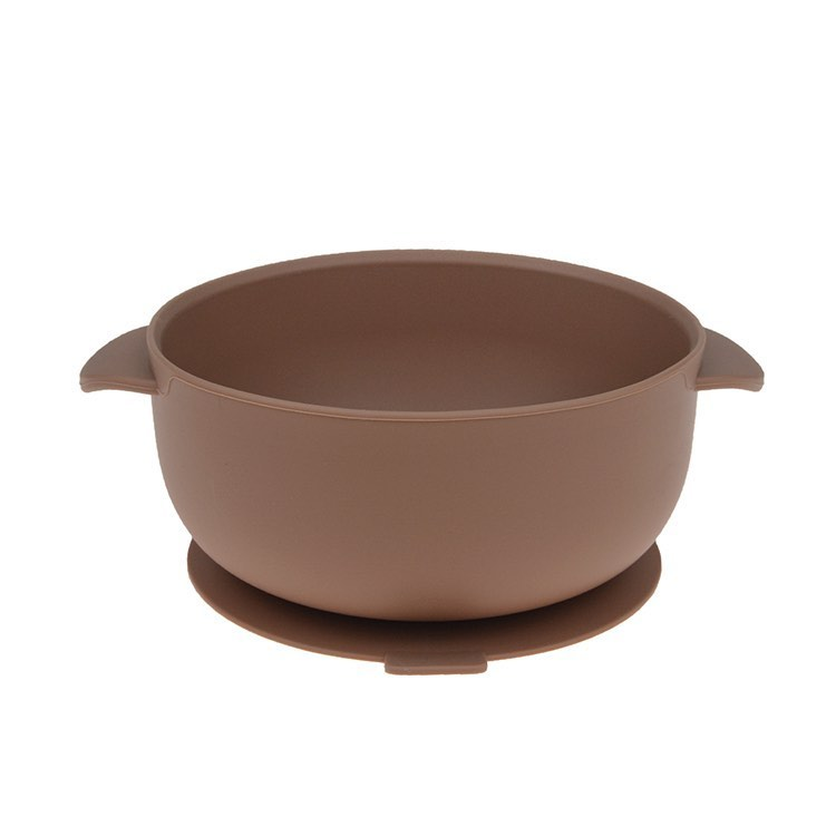 Camel Silicone Bowl With Lid