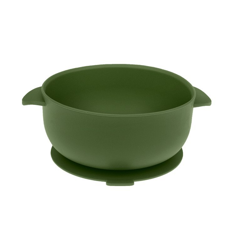 Army Green Silicone Bowl With Lid