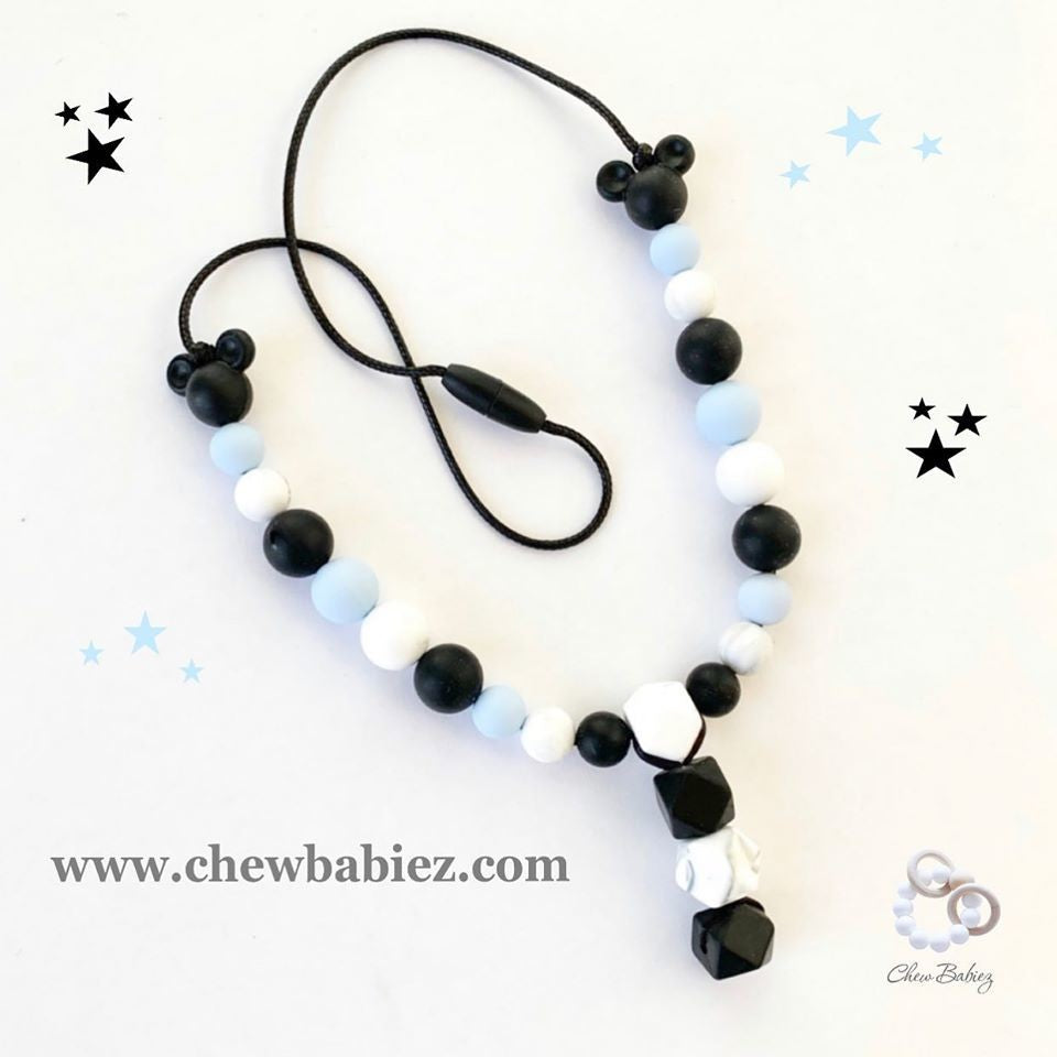 Mickey Rock Teething Necklace