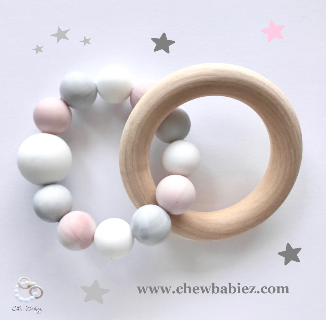 Siliwood Teething Ring