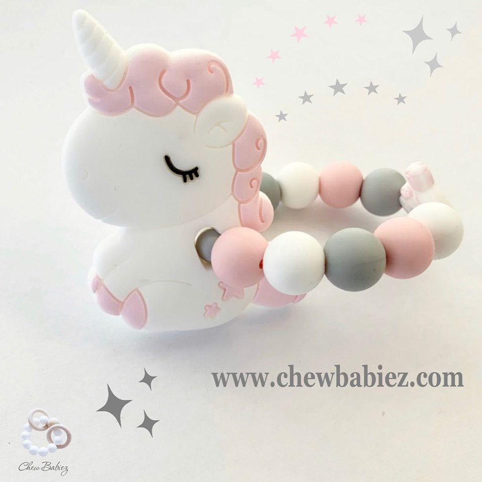 Baby Unicorn Teething Ring