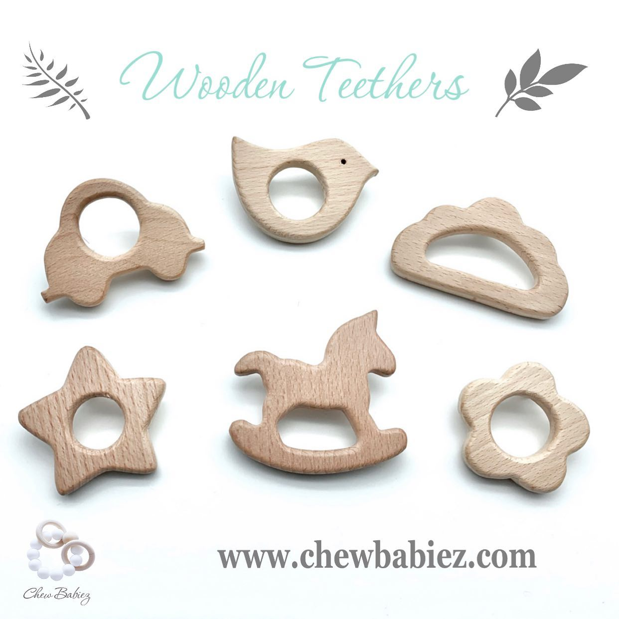 My Wooden Teething Rattle