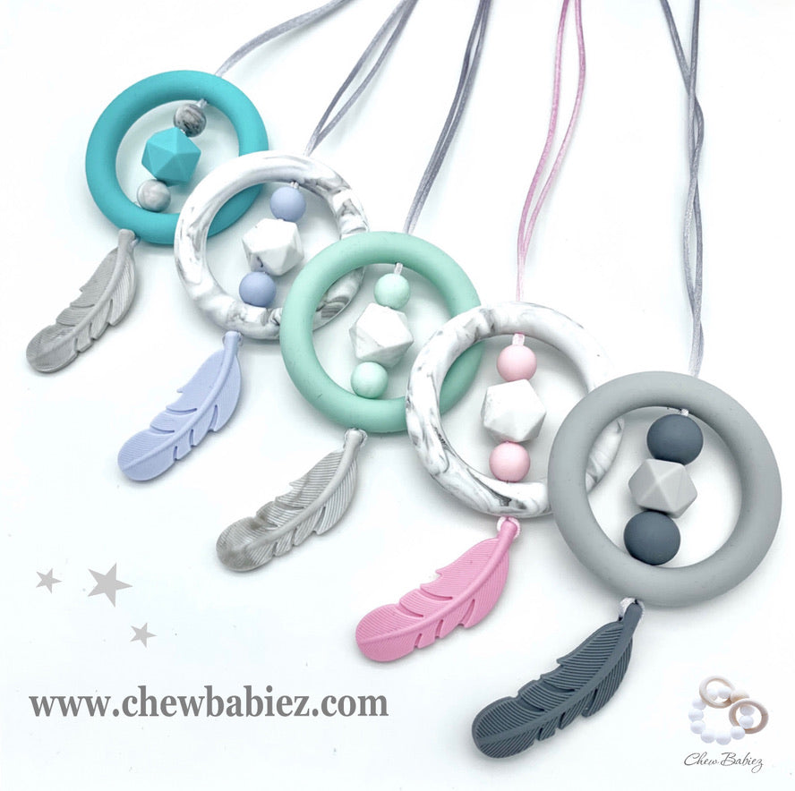 Dreamcatcher Teething Necklace