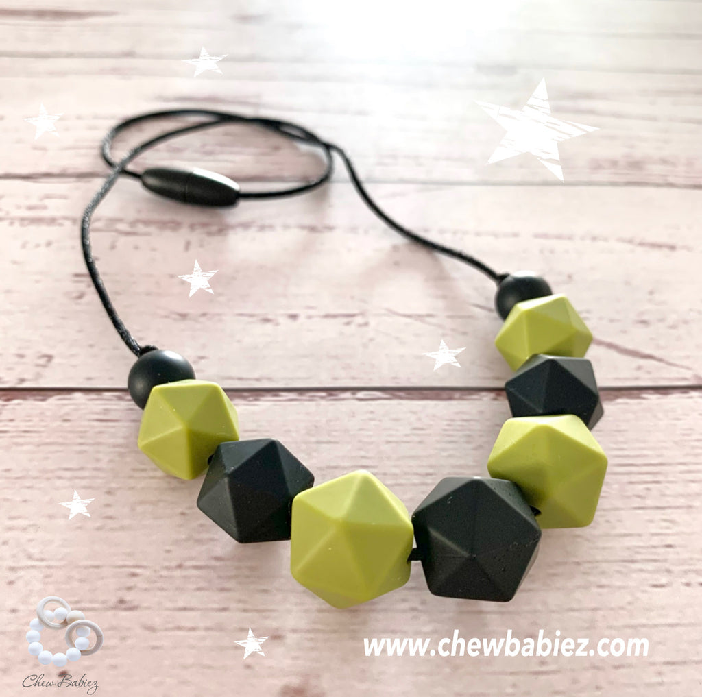 My Olive Teething Necklace