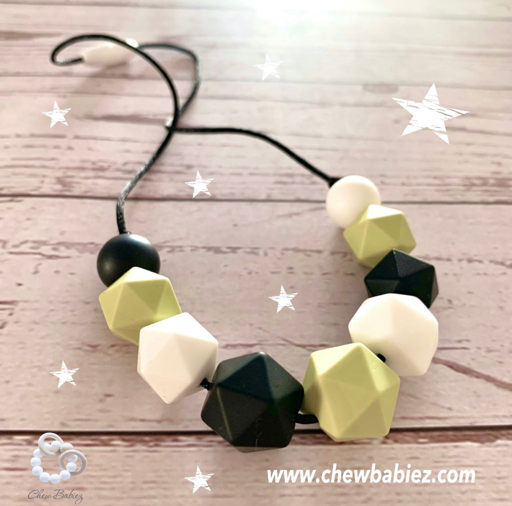 My Sage Teething Necklace