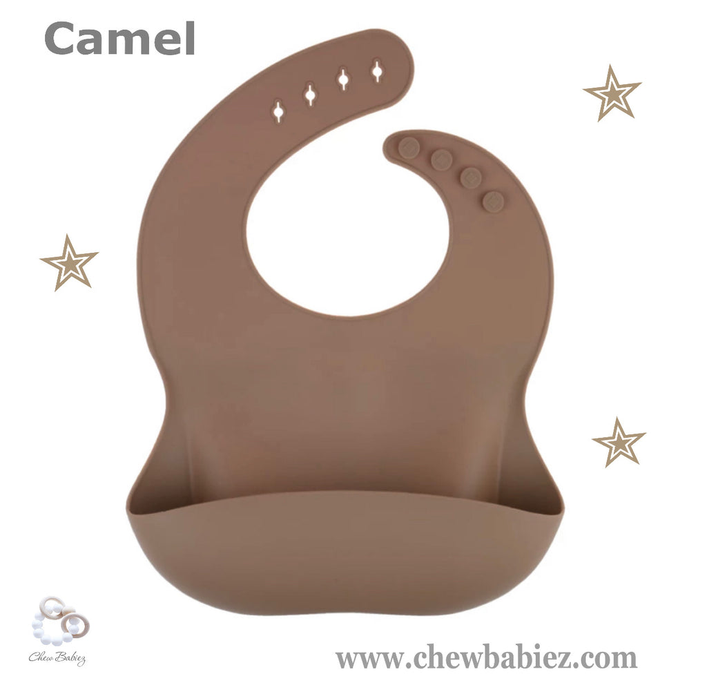 Camel Silicone Baby Bibs