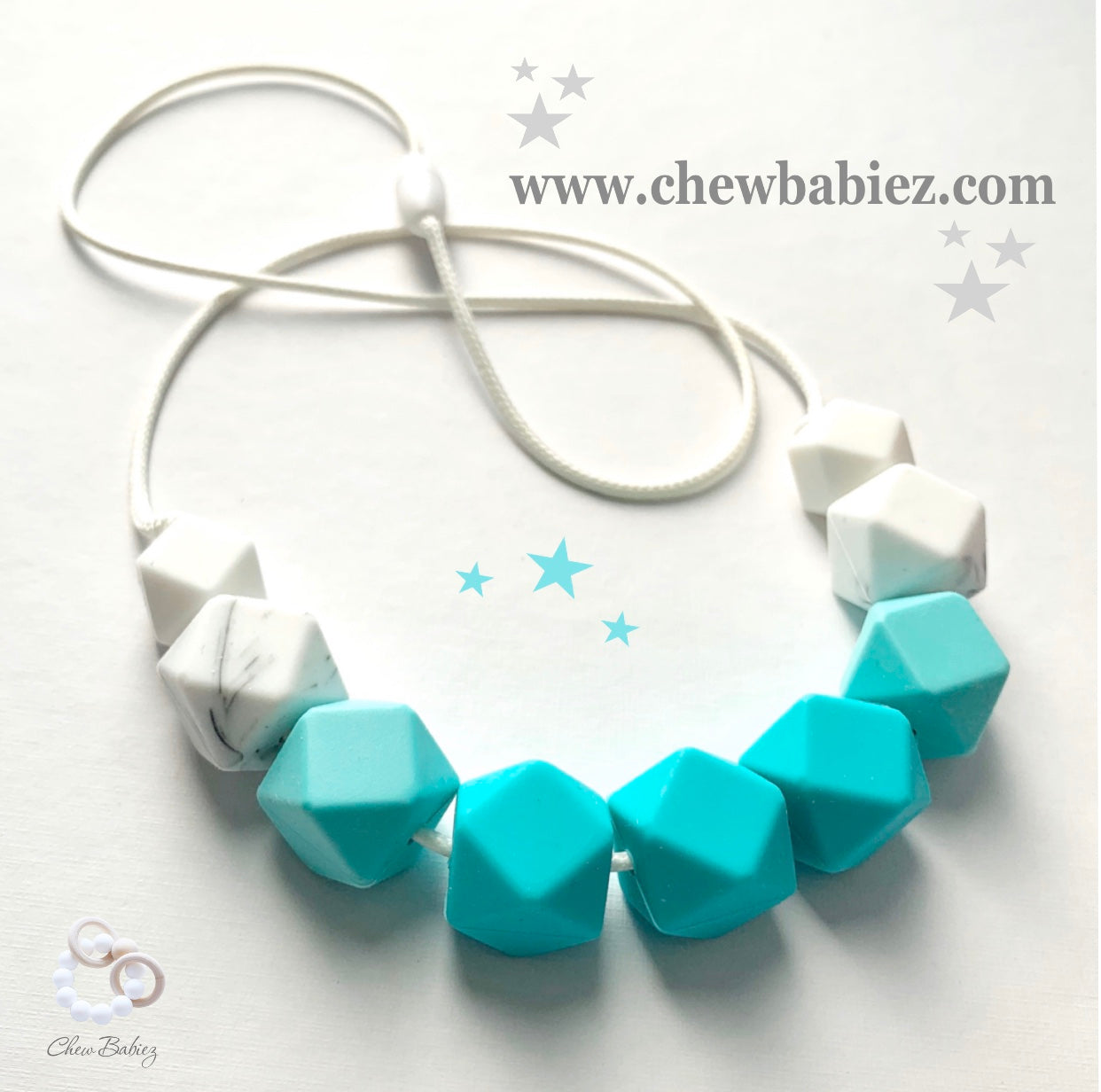 Turquoise Teething Necklace