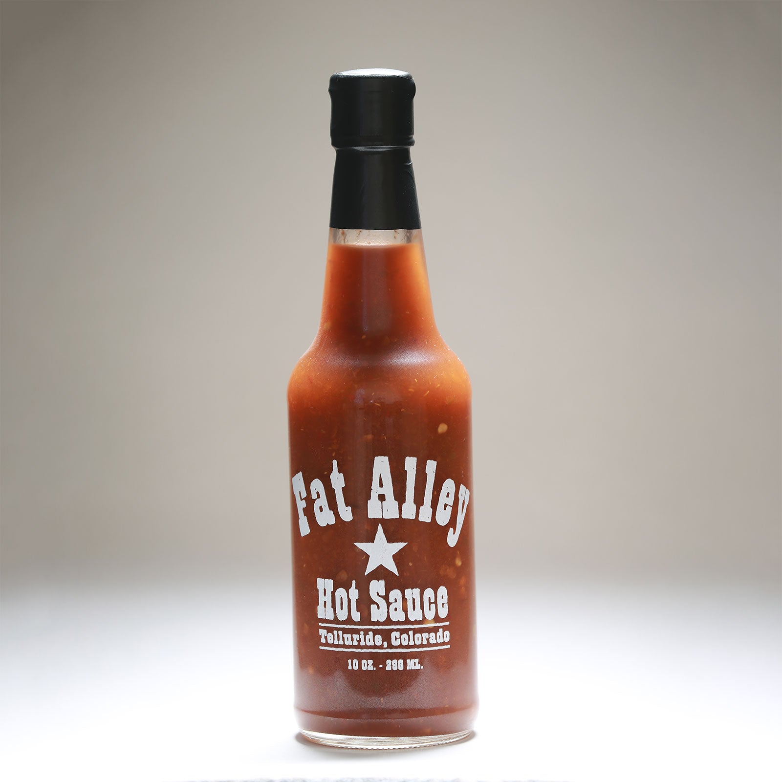 Fat Alley Hot Sauce - 10 fluid ounces
