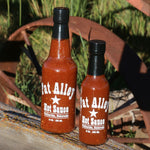 Load image into Gallery viewer, Fat Alley Hot Sauce - 10 and 5 fluid ounces