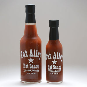 Fat Alley Hot Sauce - 10 and 5 fluid ounces