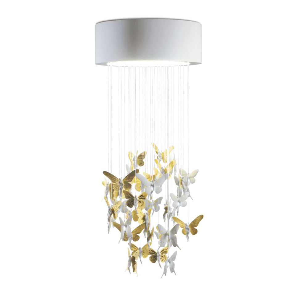 Niagara Chandelier Gold Luster