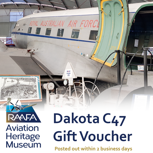 Dakota C47 Tour Gift Voucher
