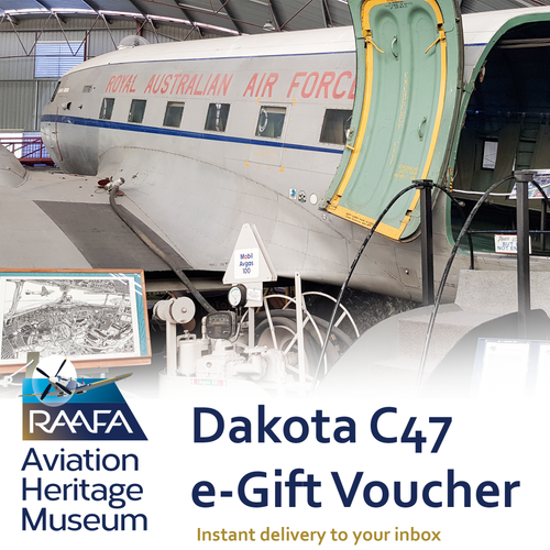Dakota C47 Tour  e-Gift Voucher