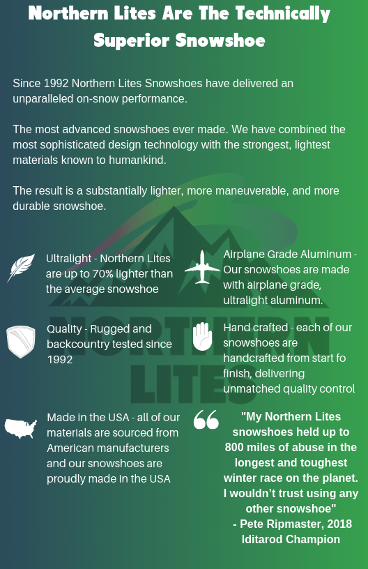 Northern Lites Technical Specifications