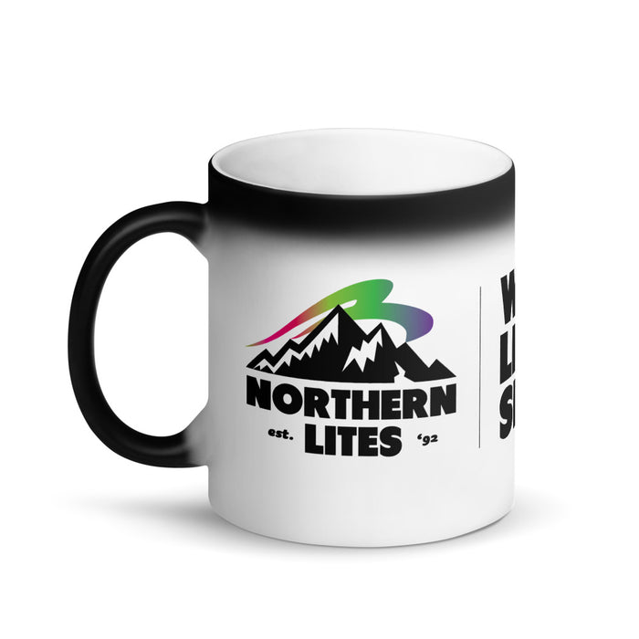 Magic Matte Black Mug Northern Lites
