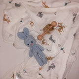 Organic Cotton Swaddle - Tommy & Ben