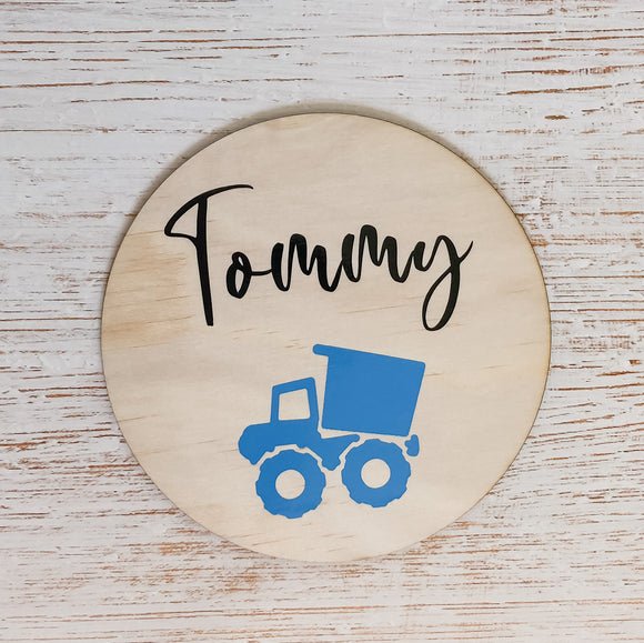 Personalised Name Plaque - Tommy & Ben