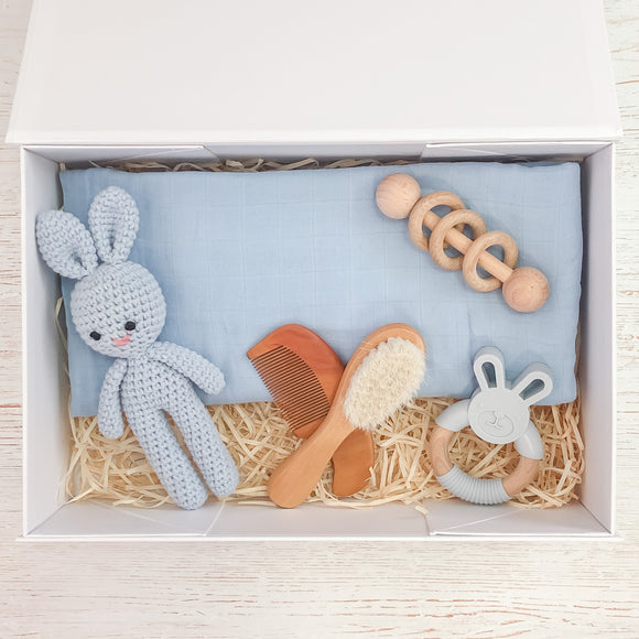 Sky Blue Baby Gift Box- Tommy & Ben