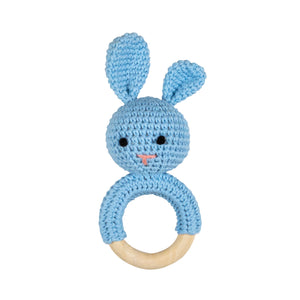 Crochet Rattle- Tommy & Ben