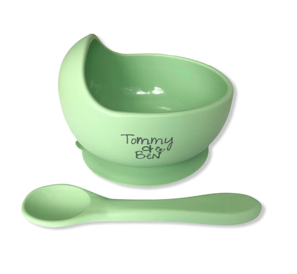 Silicone Suction bowl -Tommy & Ben