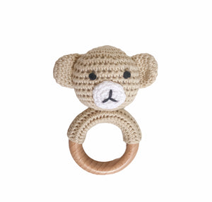 Teddy Bear Rattle- Tommy & Ben