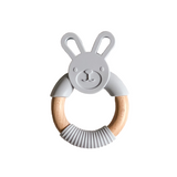Silicone Bunny Teether - Tommy & Ben