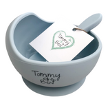 Silicone Bowl and Spoon - Tommy & Ben