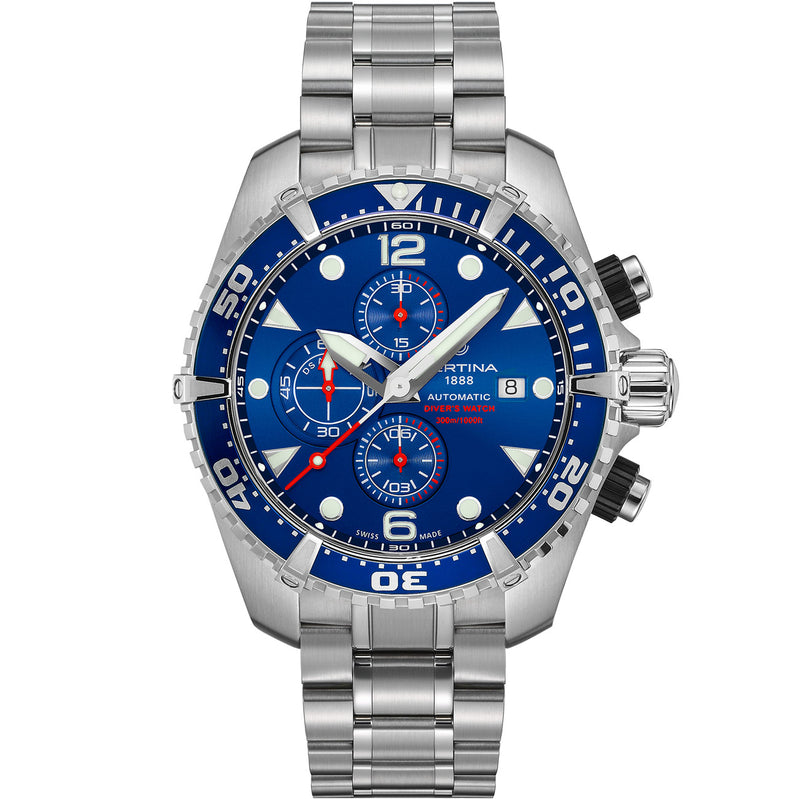 Certina DS Action Diver Chrono - C032.427.11.041.00