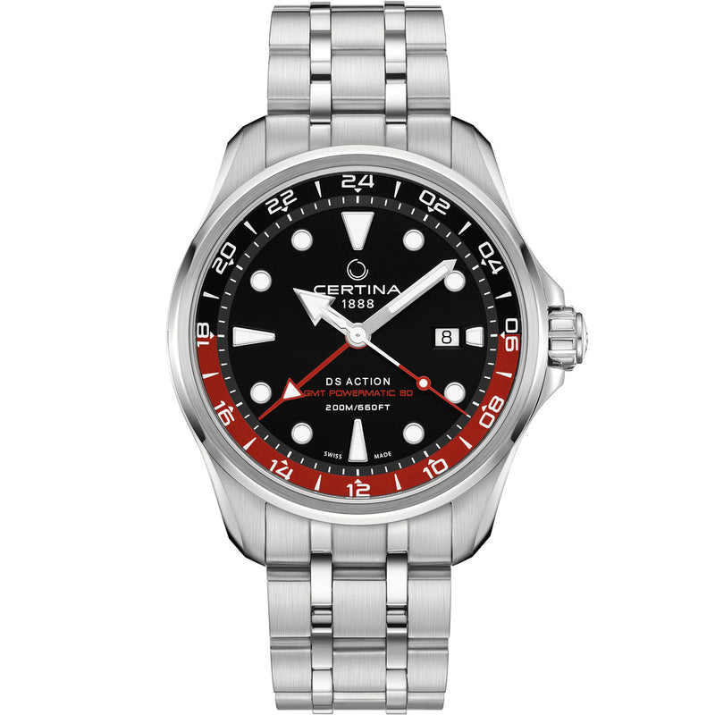 Certina DS Action GMT Powermatic 80 - C032.429.11.051.00
