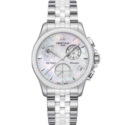 Certina DS First Lady Chronograph Moon Phase - C030.250.11.106.00