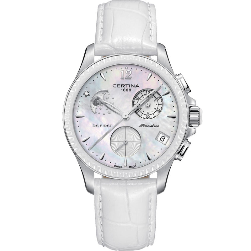 Certina DS First Lady Chronograph Moon Phase - C030.250.16.106.00