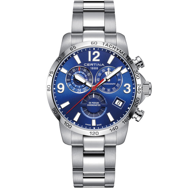 Certina DS Podium Chrono GMT - C034.654.11.047.00