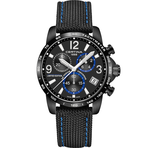 Certina DS Podium Chronograph 1/10 sec Jeremy Seewer Limitied Edition - C034.417.38.057.10