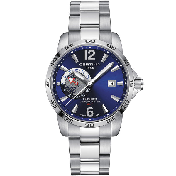 Certina DS Podium GMT - C034.455.11.047.00