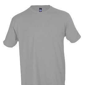 Tultex Unisex Jersey Tee-Heather Gray