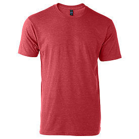 Tultex Unisex Jersey Tee-Heather Red